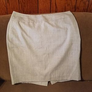 Limited gray skirt size 10